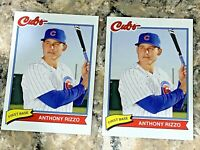 (2) 2020 Topps X Super 70's Baseball Anthony Rizzo #88 Chicago Cubs Cards