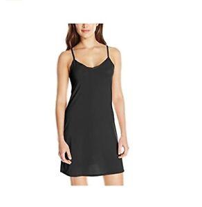 Radiant by Vanity Fair Women's Spinslip 3410186 Black Size 3XL