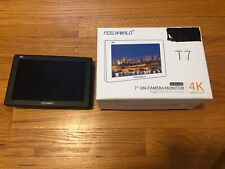 "Feelworld T7 Monitor, 7"" On-camera, Excellent"
