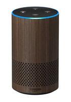 Amazon Echo (2nd Gen) Smart Speaker Alexa Voice Assistant Walnut Finish WiFi BT