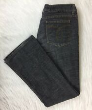 Juicy Couture Jeans Grey Wash Jeans Women's Size 29 Bootcut Mid Rise Flat Pocket