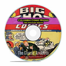 Columbia Comics, 122 Issues, Big Shot Comics, Sparky, Golden Age Comics DVD D18