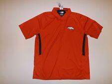 Nfl Team Apparel Orange Denver Broncos Polo Xxl 2Xl Shirt Nwt Mens