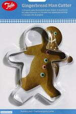 Tala Gingerbread Man Cookie Cutter Pastry Icing Stainless Steel Biscuit Xmas