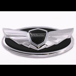 Front  Emblem badge 1pc For Hyundai Veloster Turbo 2012~2014+