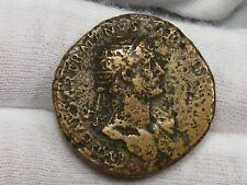 Roman: Hadrian 117-138 AD Dupondius S-3663.  #2