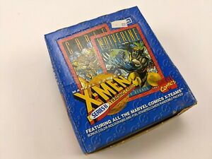 1993 Skybox Marvel Comics X-Men Series II UNOPENED Trading Card Box