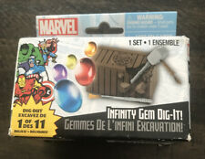 Marvel Infinity Gem Dig-It! 1 of 11 Gems Blind Box Digging Kit NIB New