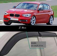Side Window Visors Sun Guard Vent Deflectors for BMW 1 F20 F21 5d 2011-2018