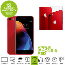 Apple iPhone 8 (PRODUCT) RED  64GB  Factory Unlocked Brand New
