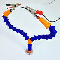 Mini Magnetic Base Holder Third Hand Tool Helping Hands Soldering Iron