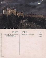 1910's THE THAMES EMBANKMENT LONDON UNUSED COLOUR POSTCARD