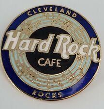 Hard Rock Cafe Cleveland Rocks Blue Music  HRC  pin
