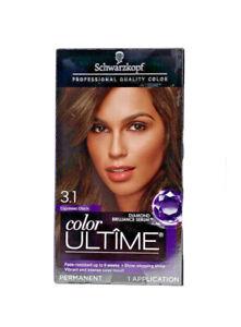 Schwarzkopf Color Ultime Permanent Hair Color 3.1 Espresso Black