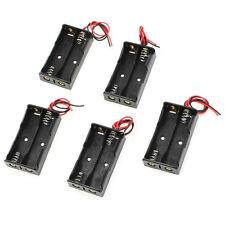 5 Pcs 2 x 1.5V AA Battery Holder Case Box Leads GYTH