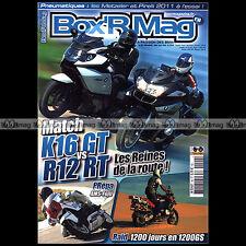 BOX'R MAG N°40 BMW R11 K1600 GT R1200 RT CL GS FLAT RACER R65 F650 GS S1000 RR