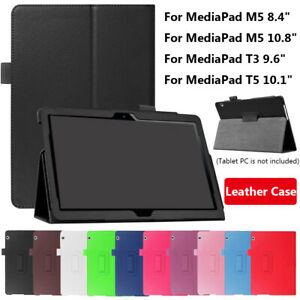 Protective Shell Smart Case Funda For Huawei MediaPad M5 8.4/10.8 T3 T5 10