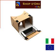 Google cardboard per iphone android smartphone CARTONE 3D VR video occhiali