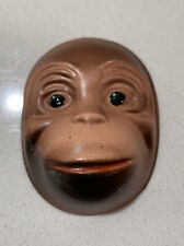 "Vintage Monkey Face for Doll or Puppet making 2.5"" X 2"" ( Approx 6.5 X 5cm)"