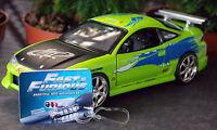 2001 Brian´s Mitsubishi Eclipse Fast & Furious, 1:24, Jada Toys 98205-1 neu