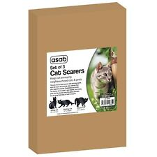 More details for 3 pack garden scare cat pest deterrent repellent scarer nuisance control fox new