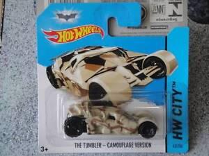 Hot Wheels 2014 #063/250 THE TUMBLER CAMOUFLAGE batman Tan HW CITY