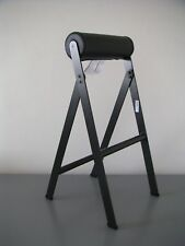 IKEA SPÄNST - DESIGNER CHRIS STAMP - STAMPD DESIGN-ICON STEEL+LEATHER CHAIR, NEW