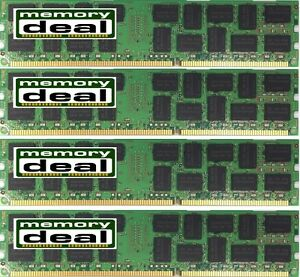 64GB 4X16GB DDR3 1333MHz ECC REG MEMORY FOR DELL PRECISION T5500 AND R5500