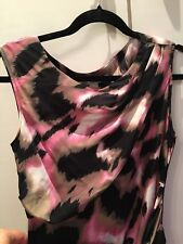 Diane von Furstenberg DVF dress, size 10US/UK12-14, 100% silk