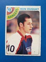 Ron Duguay Rookie 1978-79 O-Pee-Chee NHL Hockey Card #177 NY Rangers