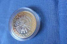 £ 2 coin Guy Fawkes 2005 Pistolet Poudre plot 1605-2005 Proof Coin encapsulé