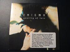Enigma GRAVITY OF LOVE European Import 1-trk Promotion CD Single Cardboard PS