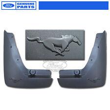 NEW OEM 2010-2012 Mustang V6 3.7L Rear Moulded Mud Flaps / Splash Gaurds