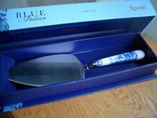 SPODE BLUE ITALIAN CAKE SLICE NEW IN BOX