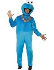 Adult Sesame Street Cookie Monster Fancy Dress Costume Mens's Outfit by Smiffys