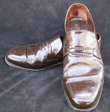 Florsheim Richfield Brown Leather Loafers Men's Shoes Size 11.5 D FREE SHIPPING