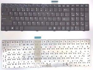 NEW MSI GE620 CX61 CR650 CR620 GT660 CX620 GX660R A6500 UK Keyboard V111922AK1