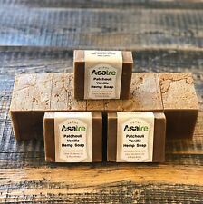 Patchouli Vanilla Hemp Handmade Soap Bar
