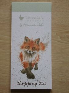 Beautiful WRENDALE Magnetic Shopping Pad - THE FOXTROT - FOX - NEW