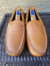Sperry Top Sider Brown Leather Pilot Driving Moc Loafer Shoes Men 10 M~ 0771592