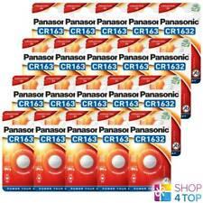 20 PANASONIC LITHIUM POWER CR1632 BATTERIES 3V DL1632 BR1632 EXP 2028 NEW