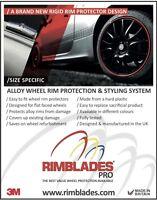 Rimblades PRO alloy wheel rim protectors