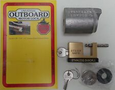 Outboard Motor Engine Bolt Security Lock Marine Boat Yacht Motorboat - New AS13