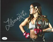 Ilima-Lei  Macfarlane Hand Signed 8x10 Photo JSA COA MMA Fighter - Bellator #1