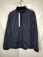Nike Men's Half Zip Light Weight Poly Wind Breaker Zip Jacket Size S Small