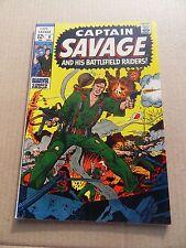 Capt . Savage and his Battlefield Raiders 9 . Marvel 1968 - VF - minus