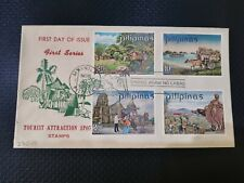 FIRST DAY COVER PHILIPPINES: 1970 TOURIST ATTRACTION SPOTS