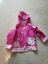 Hello Kitty Rain Coat Size 5/6 Girls