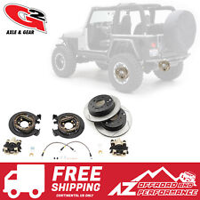 G2 Axle & Gear Rear Disc Brake Conversion Kit w/ Rotors 87-06 Jeep TJ LJ YJ XJ