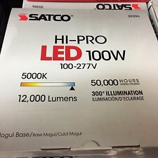 Satco S39396 - 100W/LED/HID/5000K/100-277V S9396 HID Replacement LED Light Bulb